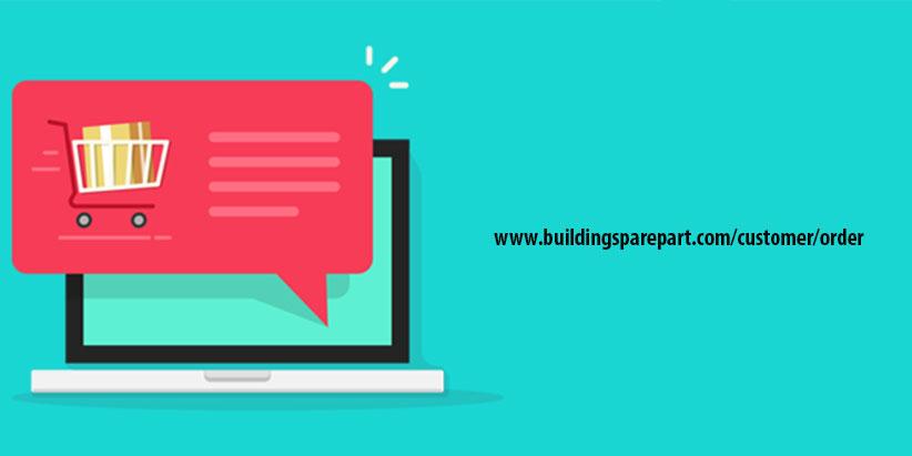 Hướng dẫn đăng nhập & đặt hàng trên website Buildingsparepart.com