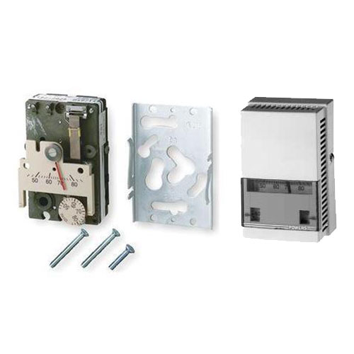 Siemens/Powers 192 and 193 Series pneumatic room thermostats