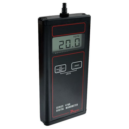 Series 476A Single Pressure & Series 478A Digital Manometer