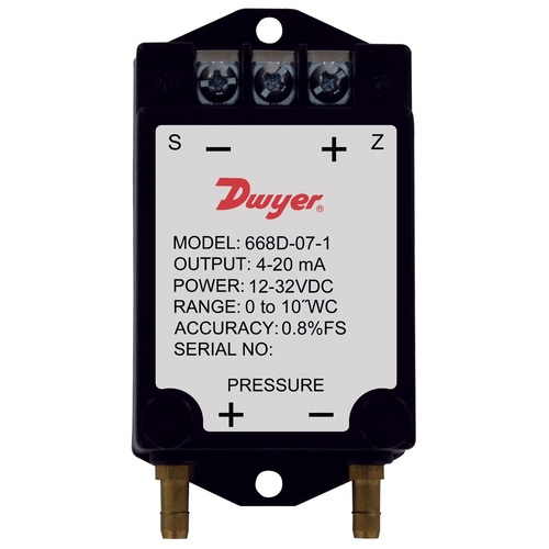 Series 668B/D Compact Differential Pressure Transmitters