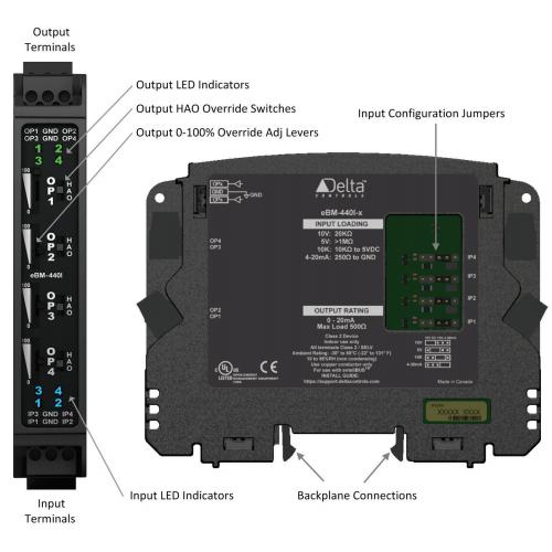 enteliBUS I/O Module eBM-440I