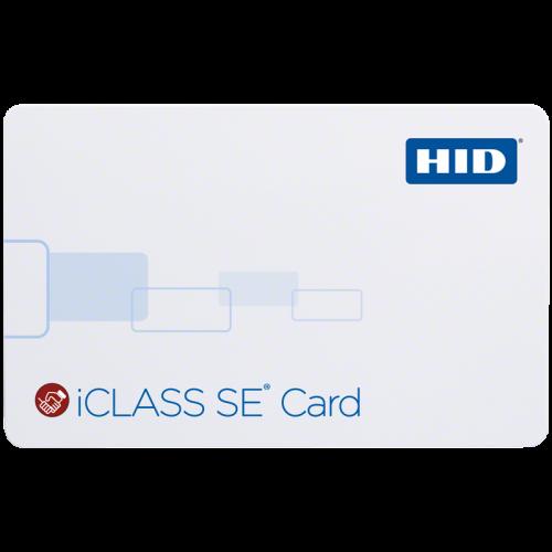 HID iCLASS SE 300x Card