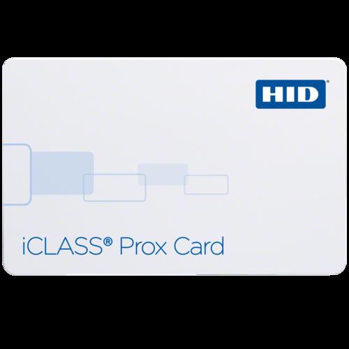 HID iCLASS 202x iCLASS + Prox Card