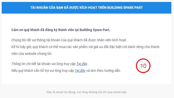 Hướng dẫn đăng ký tài khoản trên website buildingsparepart.com